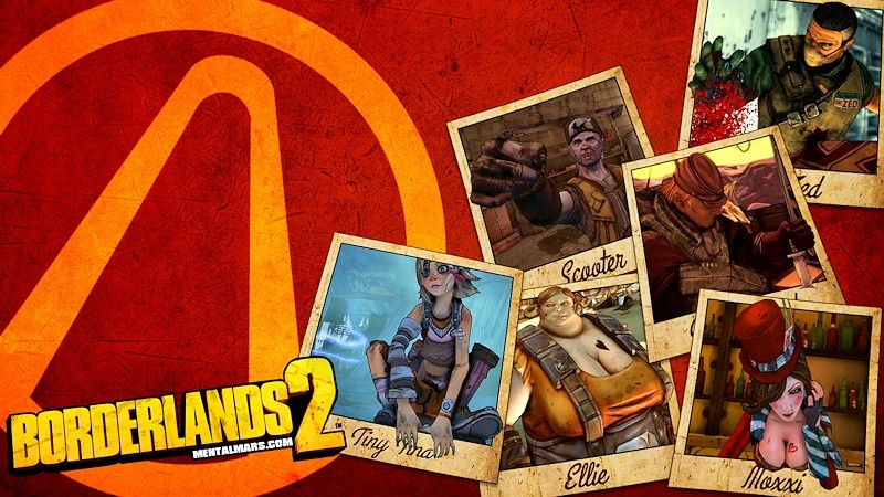 "Borderlands 2 ""The NPC's"" Wallpaper"