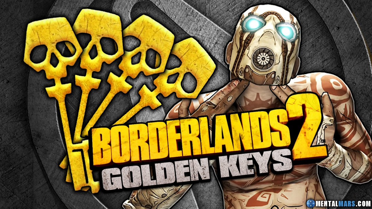 Borderlands 2 Golden Keys Archive with New SHiFT Codes ... Borderlands 2 Golden Key Shift Codes