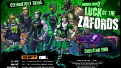 Borderlands 2 St Patricks Day SHiFT Codes