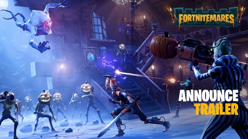 Fortnitemares (PVE) - Announce Trailer