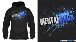 MentalMars Splatter hoodie