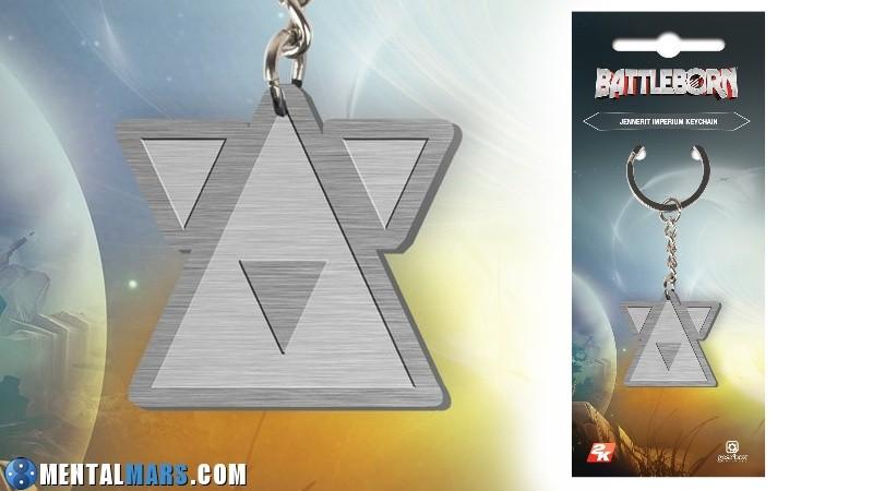 Battleborn Keychain Jennerit Preview