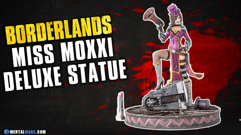 Borderlands Deluxe Statue Collection Moxxi Buy