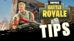 fortnite battle royale tips