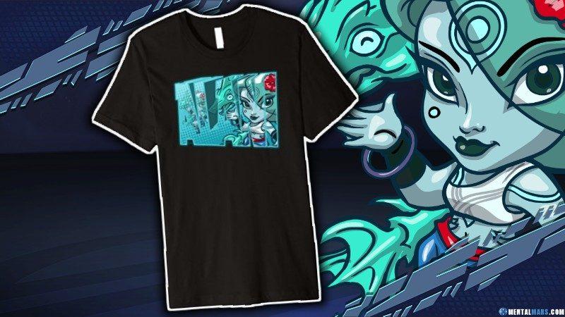 Battleborn Alani Name t-Shirt