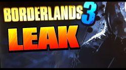 Borderlands 3 Leak E3 2018