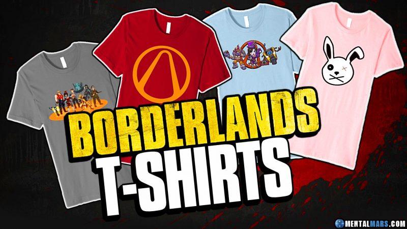 Borderlands T-Shirts Amazon