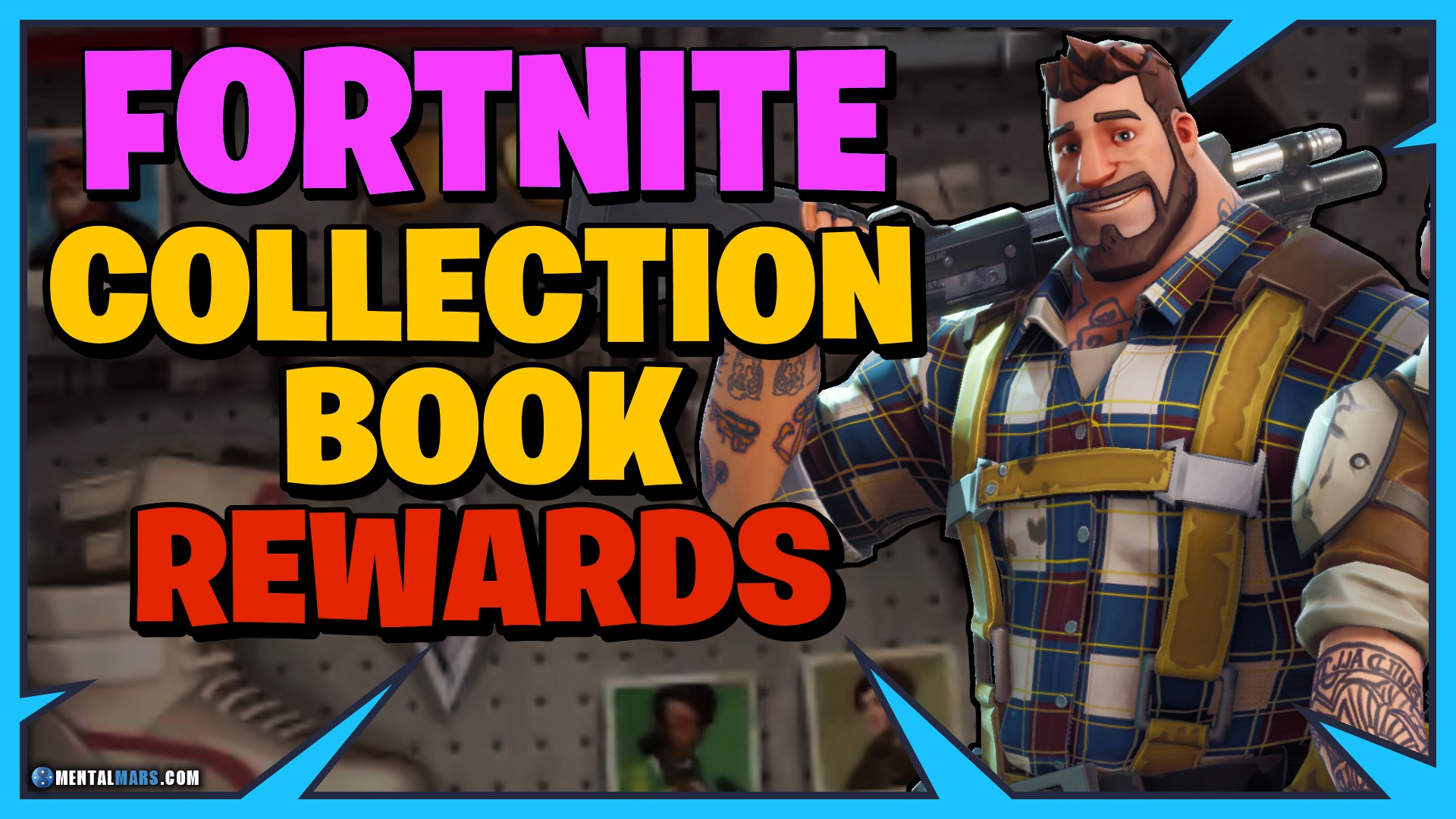 All Collection Book Rewards Level 1 500 Fortnite Mentalmars