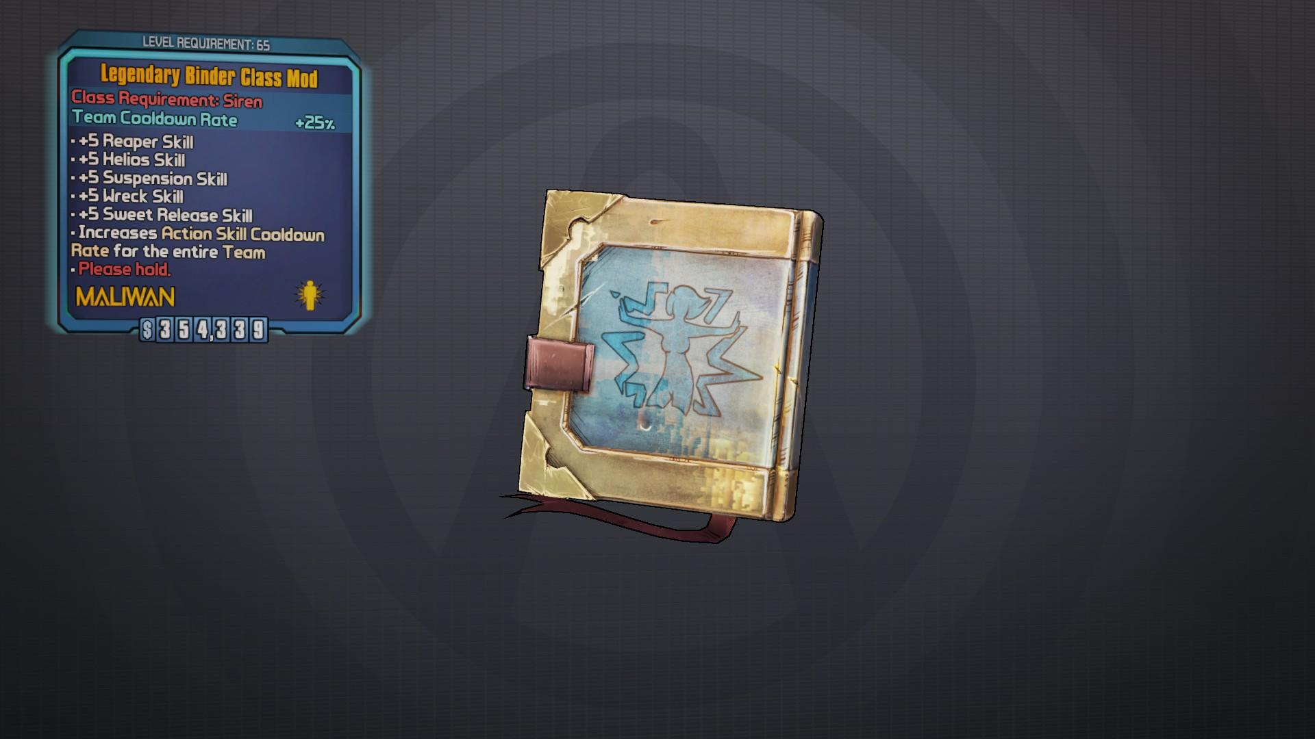 Siren class mods   Borderlands 2 Save Editor Weapon Codes  2019-05-04