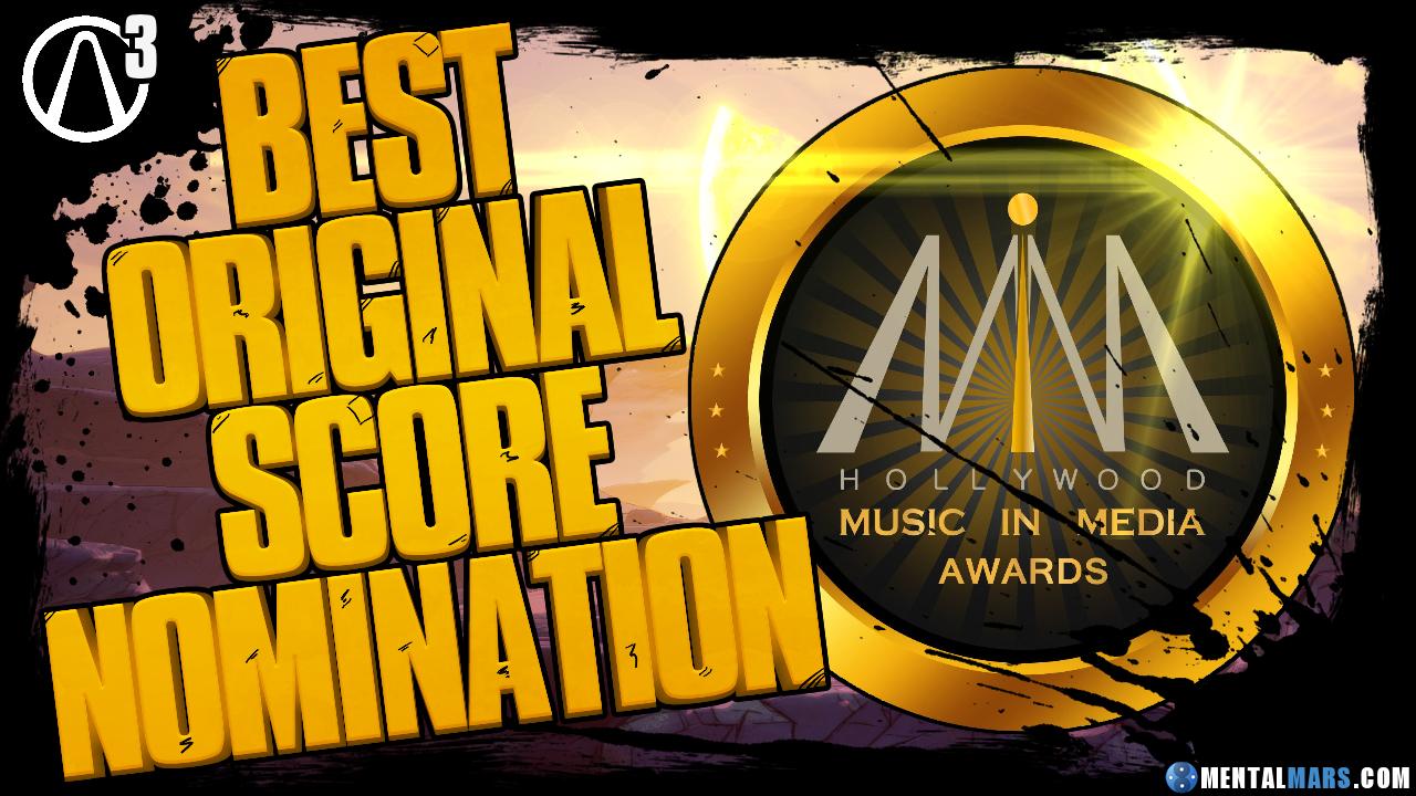 Borderlands 3 Nominated For Best Original Score Mentalmars
