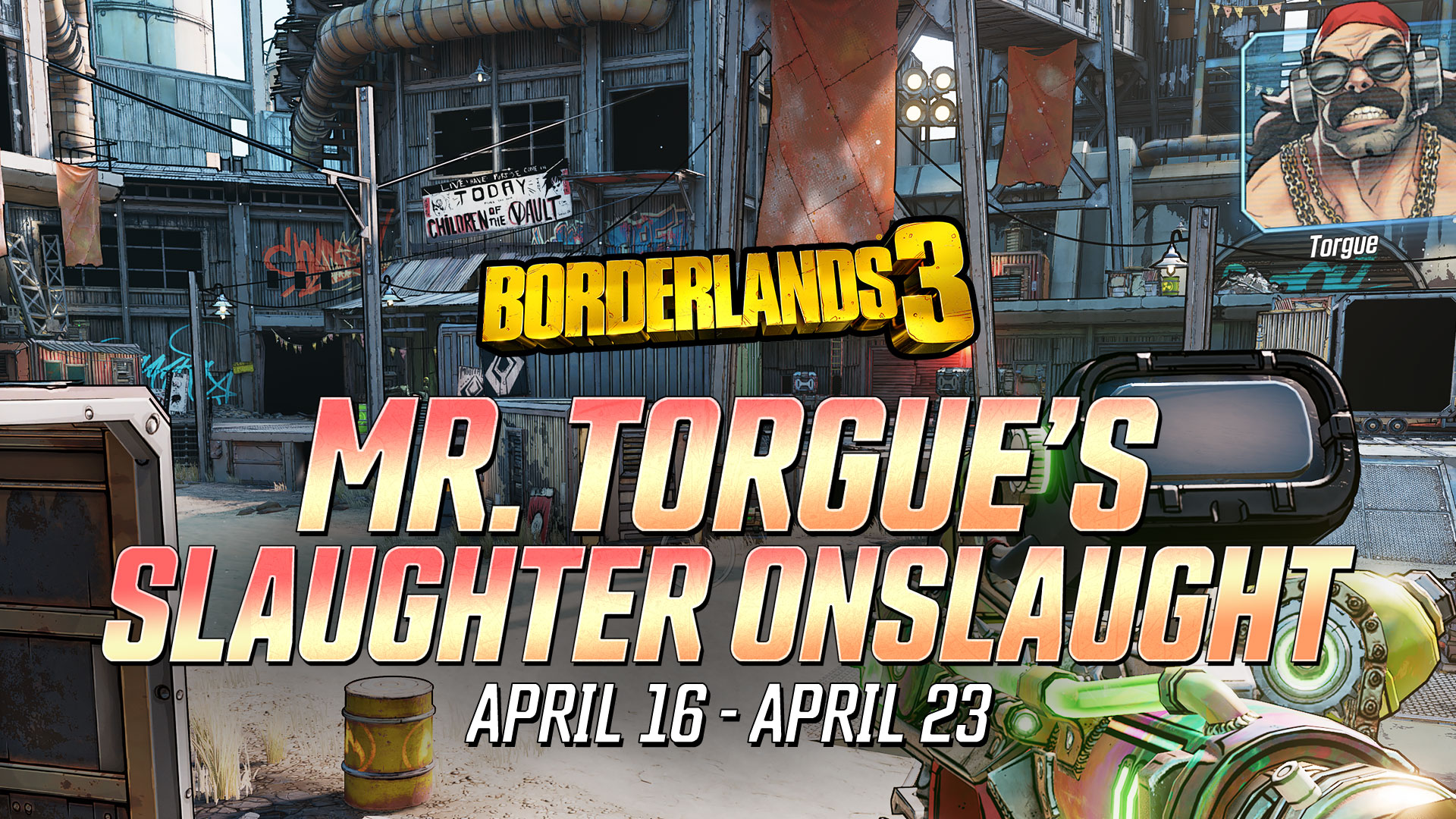 Mr Torgue Wants You To Blow Up The Slaughter Domes Borderlands 3 Event Mentalmars The three things contributing to the zone progress in this. mr torgue wants you to blow up the